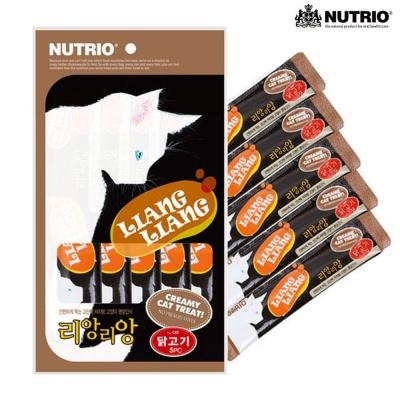 뉴트리오 리앙리앙 닭고기 5P (고양이간식)