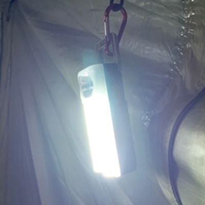 가성비 캠핑랜턴 손전등 건전지 휴대용랜턴