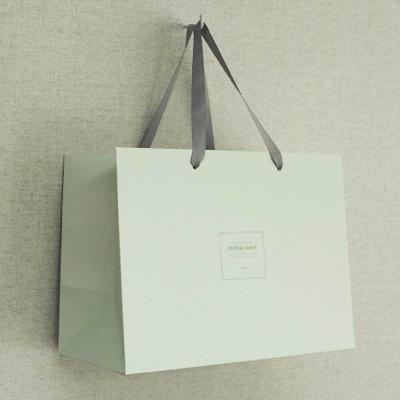 디저트 포장 박스 고급 손잡이 종이 쇼핑백 발렌타