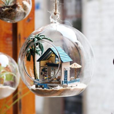 [adico]DIY미니어처 볼 - 해변의 작은집