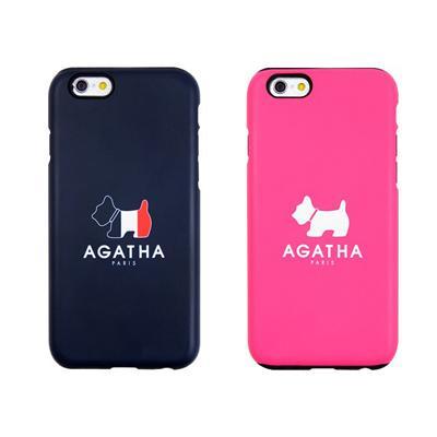 [AGATHA]정품 아가타 실리콘 범퍼 케이스-아이폰5/5S 아이폰6/6플러스