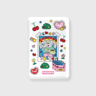 kkikki love jelly-white(무선충전보조배터리)