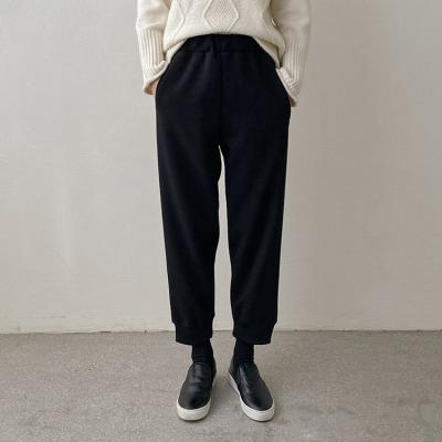 Gimo Wool Jogger Pants - 기모안감