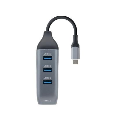 C타입 멀티허브 / 4포트 USB 허브 OTG 젠더 LCFW240
