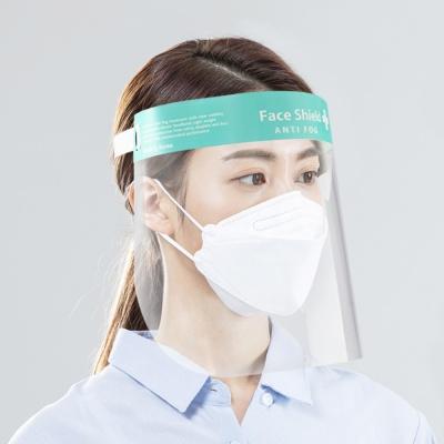 밴드형 페이스쉴드 투명 얼굴 보호 가리개 보안면