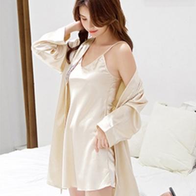 실키나잇 여성 슬립 잠옷세트