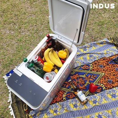 인더스 26L 차량용 캠핑용 냉장고 냉동고 INO-OCR26L