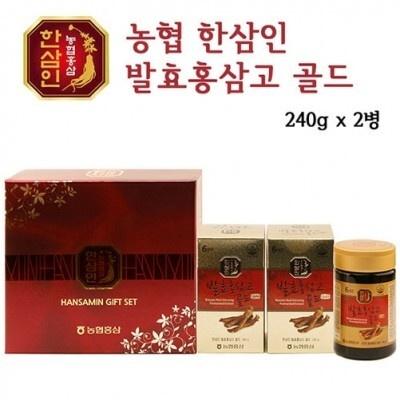 한삼인 발효홍삼고골드 240g ×2병