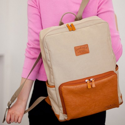 2way BACKPACK-beige