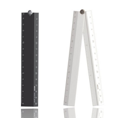 Aluminium multi Ruler <30cm>