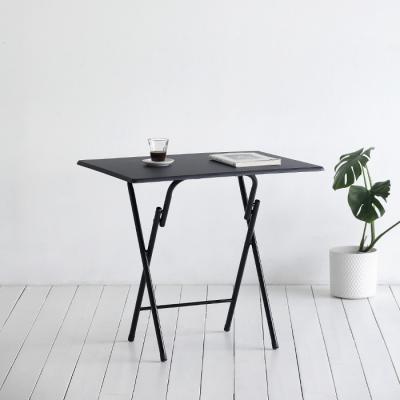 [스크래치] black 접이식 테이블 806 - 사각