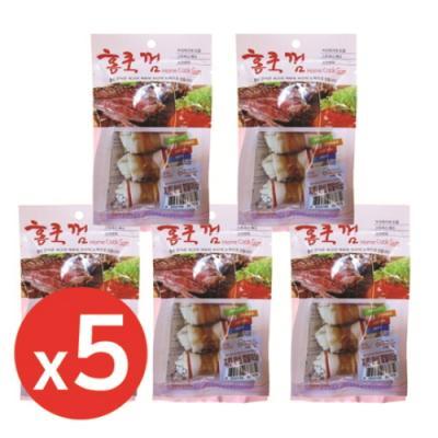 홈쿡(70g) 치킨안심껌말이 5p x5개 강아지간식