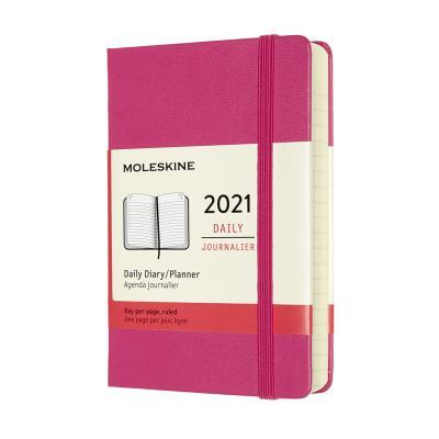 몰스킨 2021데일리/부겐빌레아 핑크. 하드 P
