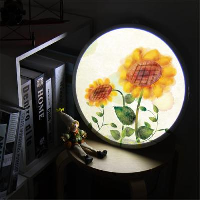 ne870-LED액자35R_부드러운해바라기꽃