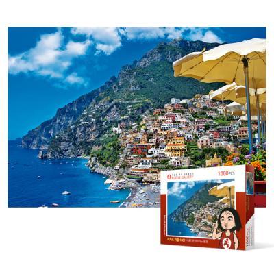 1000피스 직소퍼즐 - 아름다운 포시타노 풍경