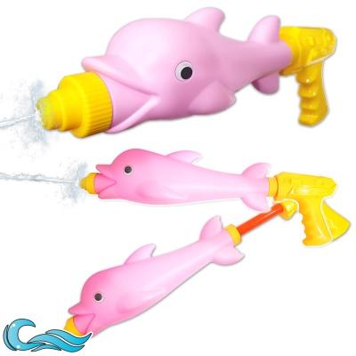 여름 워터파크 물총 물놀이 고래푸쉬워터건 핑크