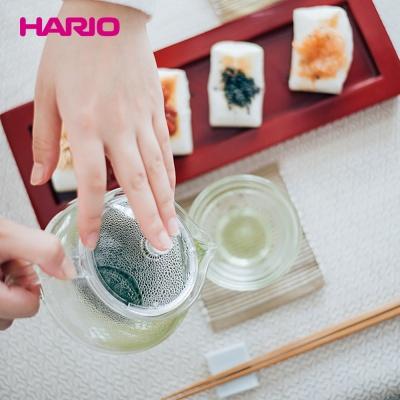 [하리오] 티포트 450ml 1p+찻잔 2P 세트 (내열유리)