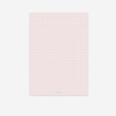 라이프패드 Lifepad-A5- 모눈-핑크