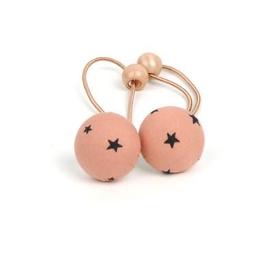 [헤어보우] Starruby 슈슈-Peach 2set
