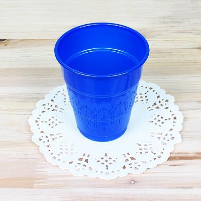 파티용 칼라 컵-블루(10개입)