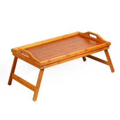 미니멀 대나무 좌식 다용도 테이블 1P