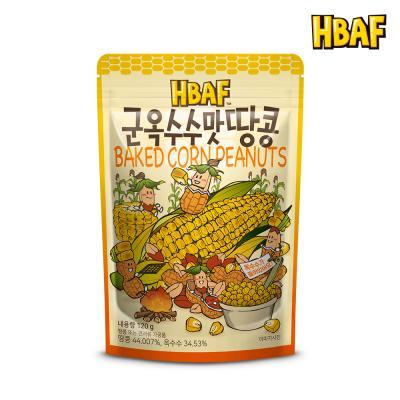 [길림양행] 군옥수수맛 땅콩 120g