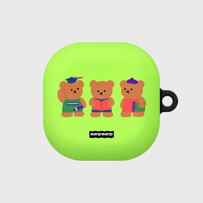 Smart bear friends-green(buds live hard)