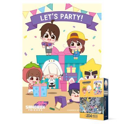 204피스 직소퍼즐 - 샌드박스 프렌즈 렛츠 파티(미니)