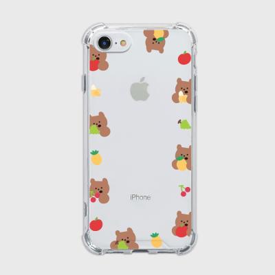 fruit gummy frame [탱크투명 폰케이스]