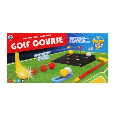 골프코스놀이 / 불빛과 효과음 어린이 골프