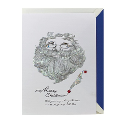 크리스마스카드/성탄절/트리/산타 이태리산타(FS203-1)
