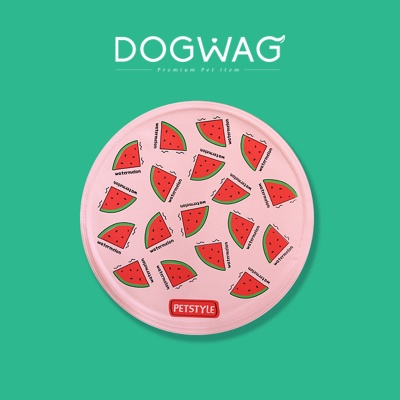 [도그웨그 DOGWAG] 강아지 쿨매트 수박 쿨패드