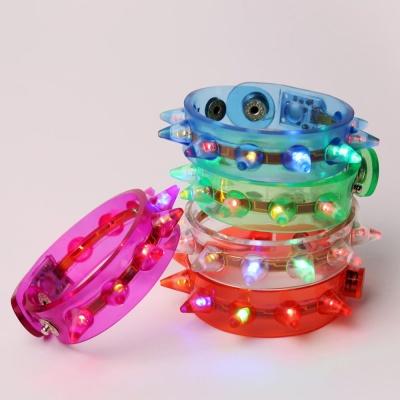 LED점등 갱스터 팔찌 (랜덤발송)