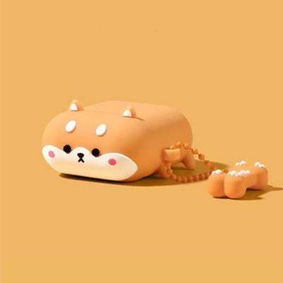 에어팟 1/2/프로 귀여운 시바견 강아지 캐릭터 케이스