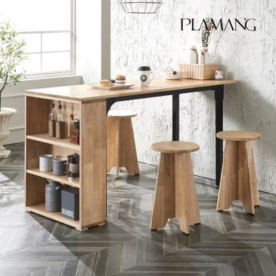 플라망 러버 원목 식탁테이블 1500