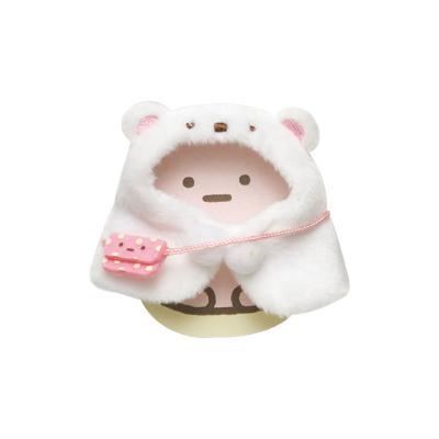 스미코구라시 미니 봉제인형 옷 (흰곰 망토) MR71806