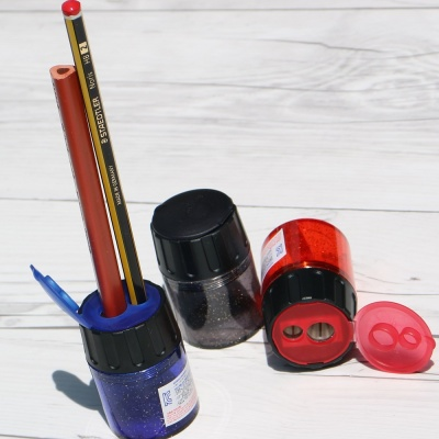 [Staedtler] 얇고 굵은 색연필까지..스테들러 2홀 연필깎이 No.5134