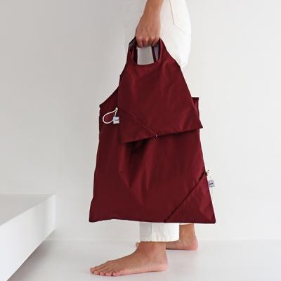 [칼라링백/레드와인] 에코백/시장가방/보조가방
