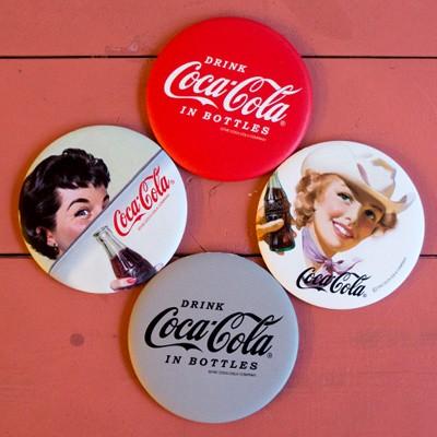 코카콜라 클래식 원형거울