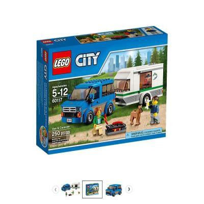 LEGO / 레고 시티 60117 밴과 캠핑 트레일러