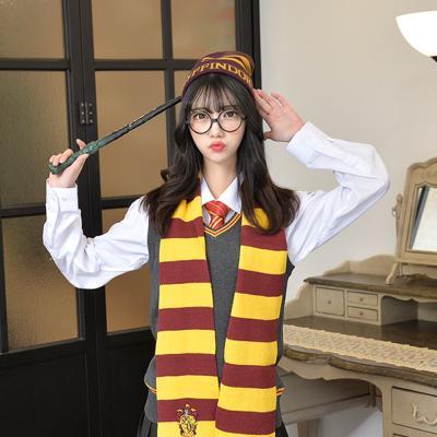마법학교 기숙사 레터링 레드 비니