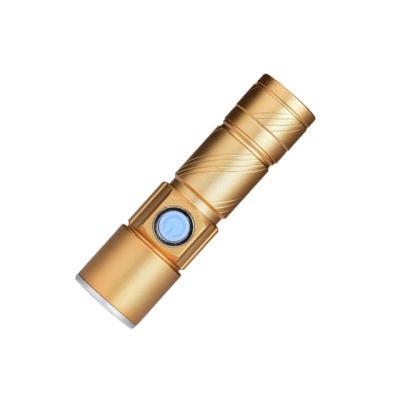 USB 미니 줌라이트 충전식손전등