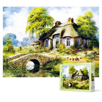 500피스 직소퍼즐 - 컨트리 하우스