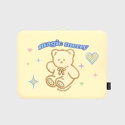 MAGIC MERRY-IVORY(13인치 노트북파우치)
