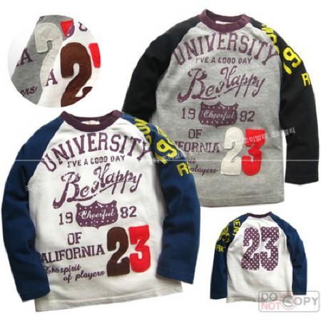 (일본 패치웍 아동티셔츠) 나도 캘리포니아 대학 갈거야 300002 (1~4세까지)