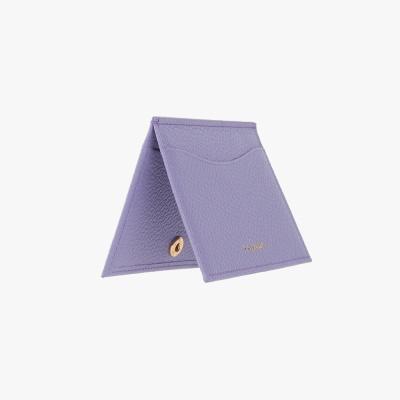 REIMS W018 루프 미니 카드 지갑 라일락