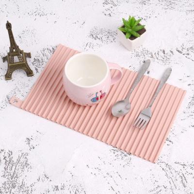 미니멀 실리콘 드라잉 매트(30cm) (핑크)