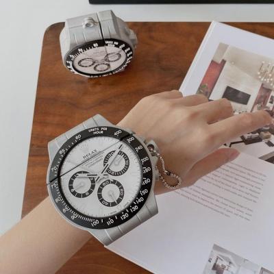 에어팟 1/2/프로 시계 커플 캐릭터 tpu 실리콘 케이스