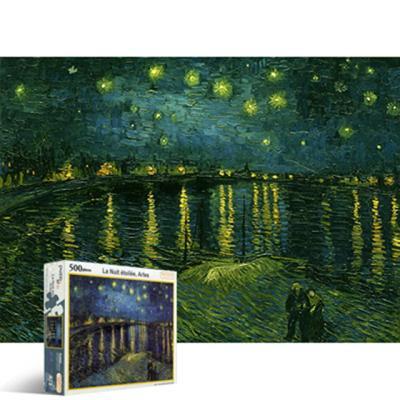 론강의별이빛나는 밤에[500피스/직소퍼즐/명화/PL672]