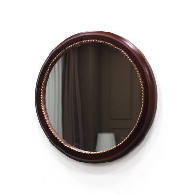 (kcp066)심플원형 벽거울 (엔틱골드)